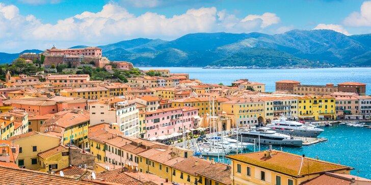 Na 2 noci za italskými krásami: Florencie, Pisa i ostrov Elba s koupáním