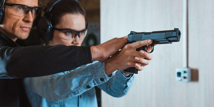 Střelba z pestré škály zbraní pro začátečníky i pokročilé střelce: až 47 výsřelů