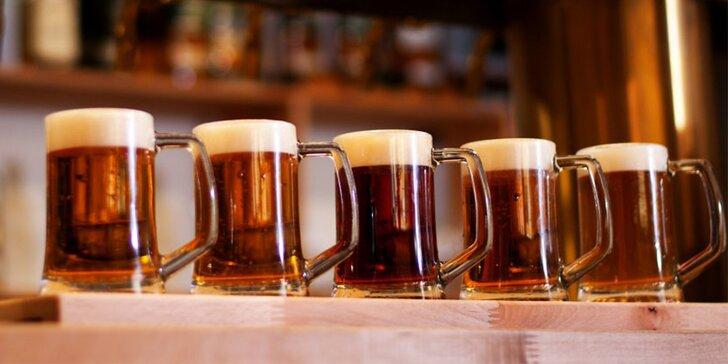 Kopněte je do sebe: košt 5 vybraných a pečlivě ošetřených piv po 0,2 l