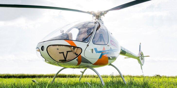 Vyzkoušejte si řízení moderního vrtulníku včetně předletové přípravy