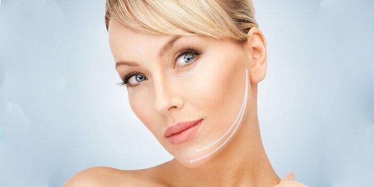 Ošetření obličeje pomocí mezoterapie dermarollerem a zapracování kolagenu