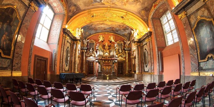 Jedinečná únorová nabídka koncertů v Zrcadlové kapli Klementina