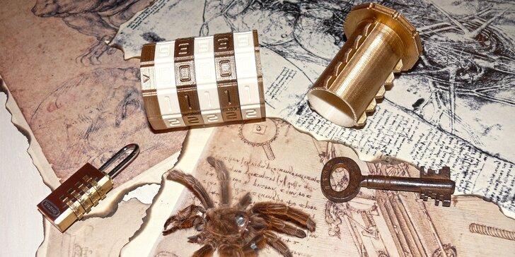 Úniková hra pro 2–6 hráčů: Vydejte se za tajemstvím Da Vinciho kódu