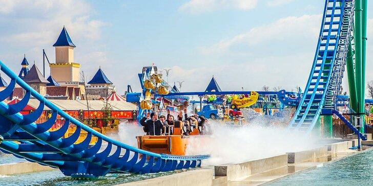 Den plný radosti v zábavním parku Energylandia: doprava vč. vstupenky