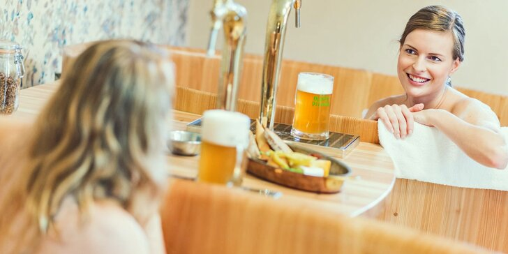 2 nebo 3 dny v rodinném pivovaru: jídlo, degustace piv, lázeň i masáž