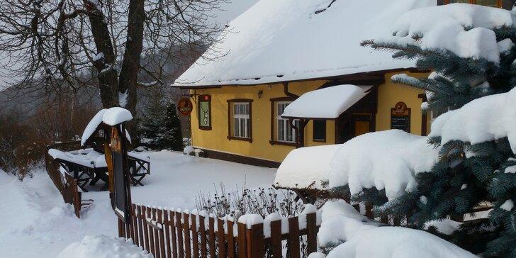 Zima a jaro v Jeseníkách pro páry i rodiny: 3–4 dny se snídaní nebo polopenzí