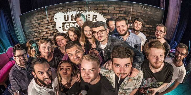 Stand-up Show s komiky z Underground Comedy v Ústí nad Labem