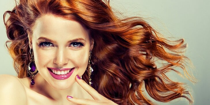 Střih a regenerace vlasů i s možností melíru
