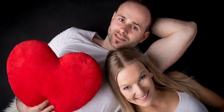 Focení párů, glamour nebo business portrét v ateliéru či exteriéru