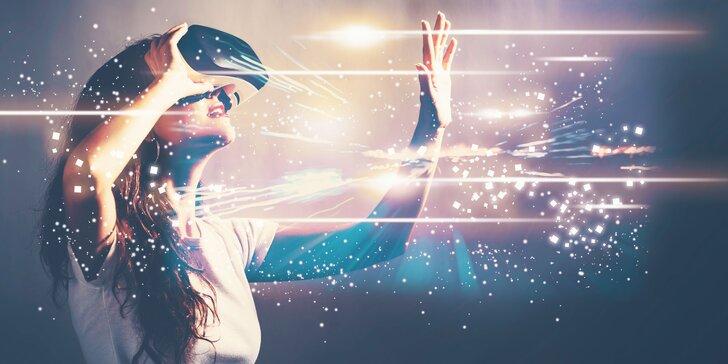 Objevte nový svět: 1 nebo 2 hodiny ve fascinující virtuální realitě