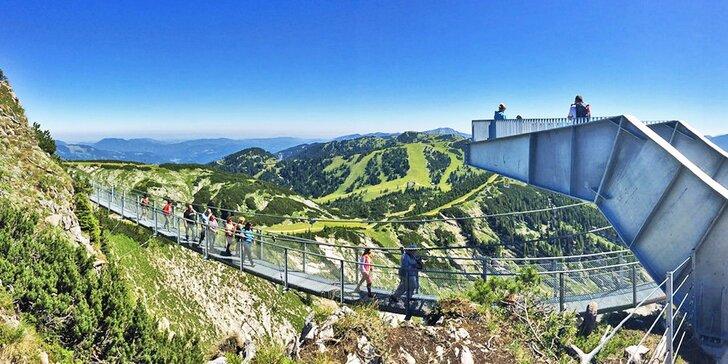 Soutěska Wasserlochklamm a nejvyšší vrchol Göstlingských Alp: Hochkar