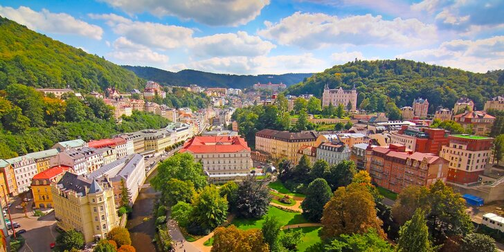 2-4 dny v Karlových Varech: přijměte pozvání do apartmánu v lázeňské čtvrti