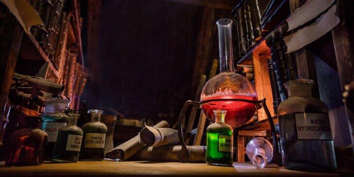 Zneškodníte virus a odhalíte Tajný experiment? Úniková hra pro 2–4 hráče