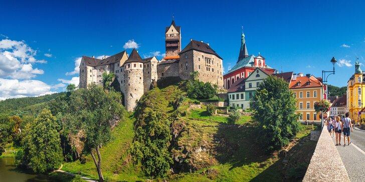 4* pobyt vč. polopenze u kouzelného hradu Loket: památky a lázně na dosah