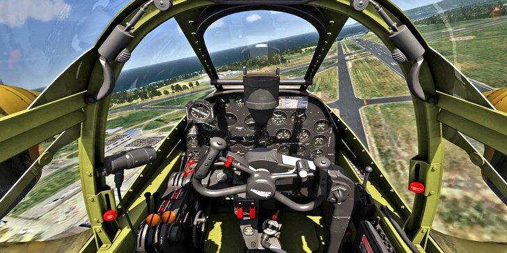 Naučte se létat: 30 min. na leteckém simulátoru ve virtuální realitě a certifikát
