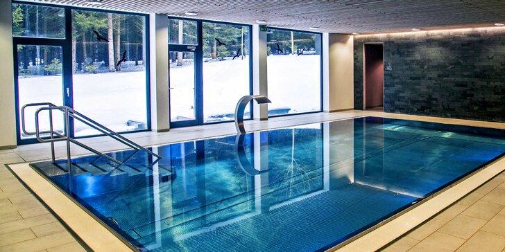 Zima na Vysočině: skvělá polopenze, wellness s bazénem i běžky a lyže