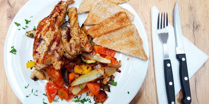 Dejte si dobrý oběd: denní menu podle výběru v restauraci Legend pro 1 os.