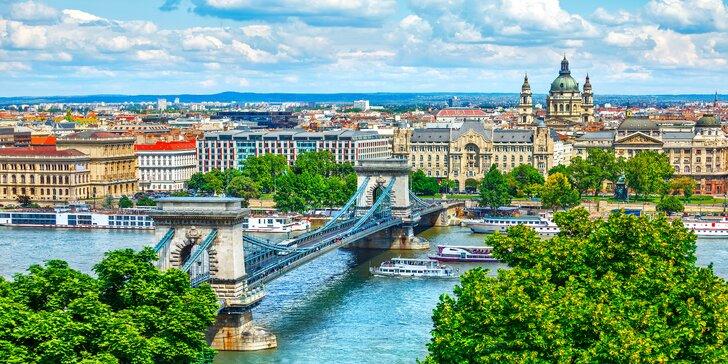 Zima i jaro v Budapešti: 3–4 dny se snídaní nedaleko centra města