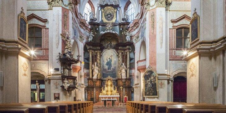 Vstupenka na koncert Mistři klasiky na Královské cestě v kostele sv. Kajetána