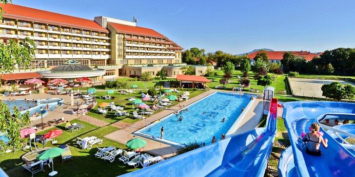 Relax u Balatonu s neomezeným wellness a polopenzí: 2 děti pobyt zdarma