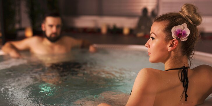 2 hodiny privátního wellness: relaxační vířivka, finská sauna i parní lázeň