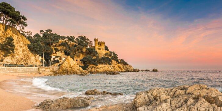 Španělsko: týden ve 4* hotelu s polopenzí na vyhlášeném pobřeží Costa Brava