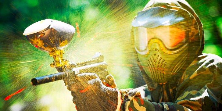 Zahrajte si na vojáky: Časově neomezená přestřelka vč. vybavení a 100 kulí