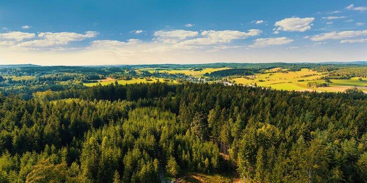 Zimní nebo jarní pobyt v jižních Čechách: polopenze, relax a spousta vyžití