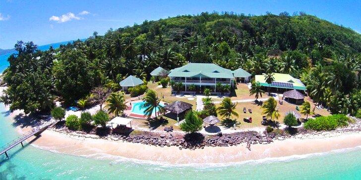 Exotická dovolená na Seychelách: 6–10 nocí v 3* hotelu s polopenzí, bazén