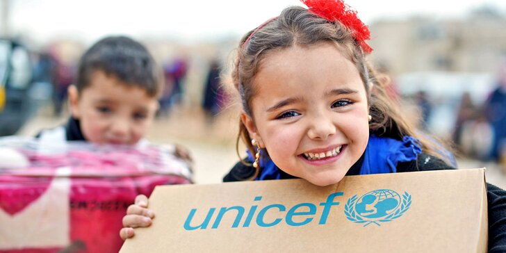 Pomozte s UNICEF syrským dětem, kterým vzala válka domov, vodu i jídlo