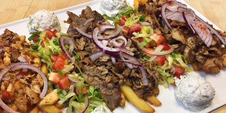 Dobroty od řeckého šéfkuchaře: variace gyrosu a přílohy pro 2 osoby