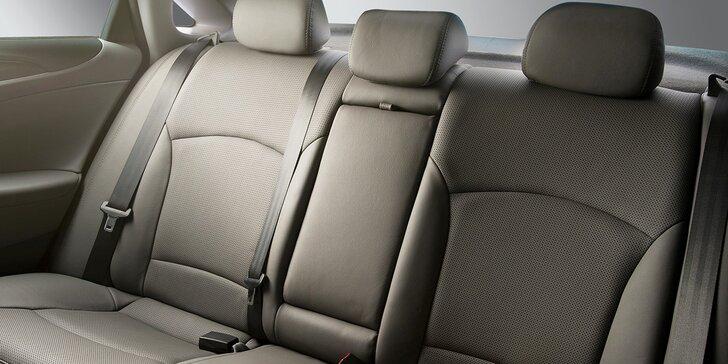 Čistění sedadel nebo nanokeramická ochrana laku osobního vozu