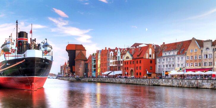 Baltské Trojměstí: autobusový výlet do Gdaňsku, lázní Sopoty a Gdyně