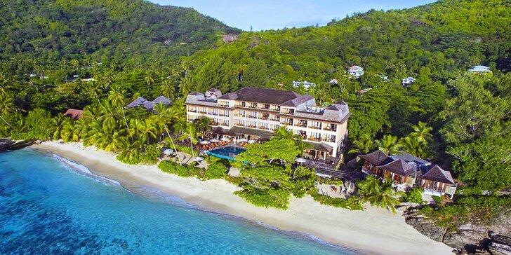Boží dovolená v 4* resortu na Seychelách: 6–10 nocí s plnou penzí a bazénem