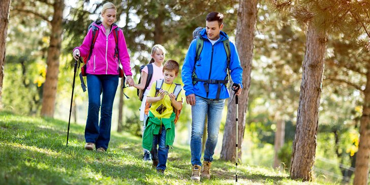 Rodinný pobyt na ekofarmě v Jeseníkách s ochutnávkou domácích produktů