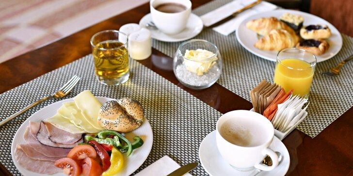 Začátek dne v srdci Prahy: Snídaně v hotelu Occidental Wilson pro 1 i 2 osoby