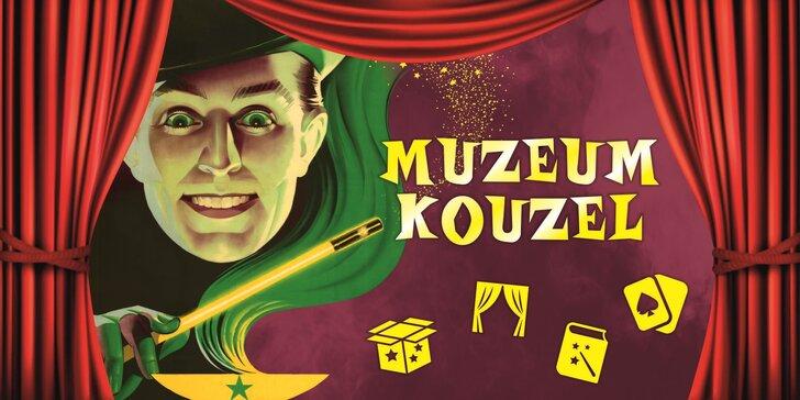 Vstup do muzea s expozicí magických propriet i na kouzelnické představení
