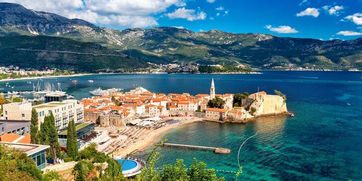 Letní dovolená v Černé Hoře: 7 nocí v hotelu s bazénem a polopenzí