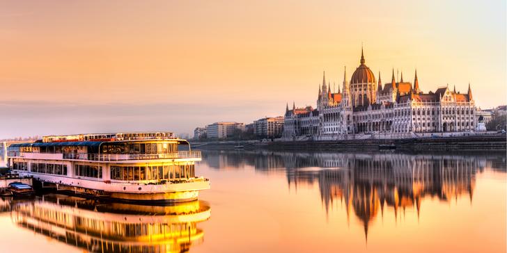 Jaro a podzim v Budapešti: 2–3 noci se snídaněmi v hotelu blízko centra