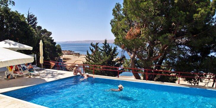Na parádní dovolenou do Chorvatska: all inclusive, neomezeně bazén a sauna