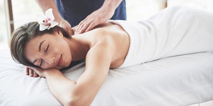 Uvolní i prohřeje: 45, 60 nebo 90 minut masáže dle výběru z několika druhů