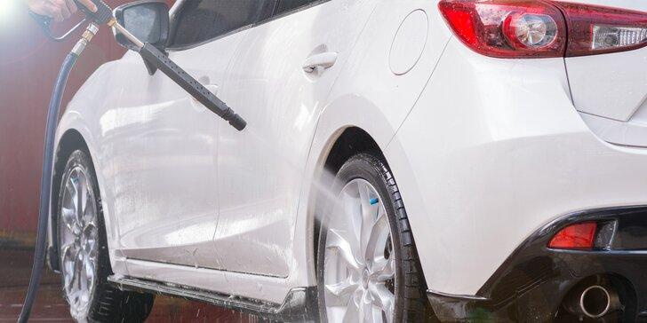 Ať se váš vůz jen leskne: přednabitá karta do myčky v hodnotě až 3 000 Kč