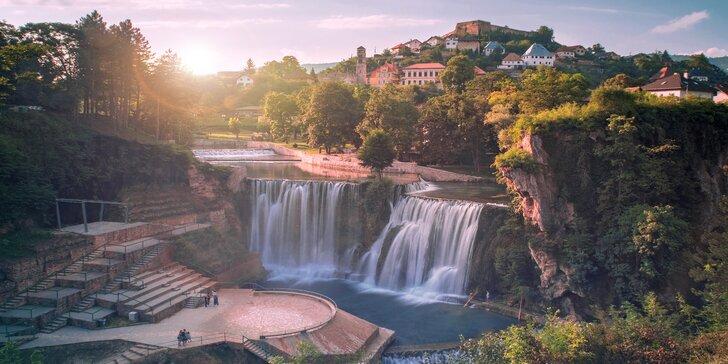 Objevte bosenské pyramidy: květnový zájezd s ubytováním na 2 noci a snídaní