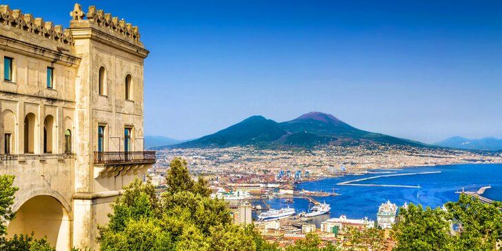 Itálie autokarem: Řím, Neapol, Pompeje i procházka kolem kráteru sopky