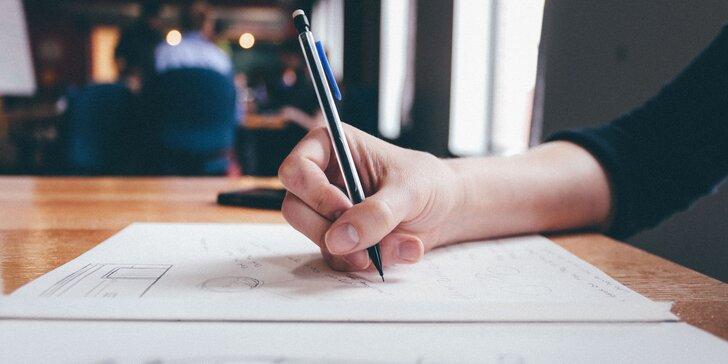 Dílna tvůrčího psaní a základy žurnalistiky pro děti v centru Vzletná