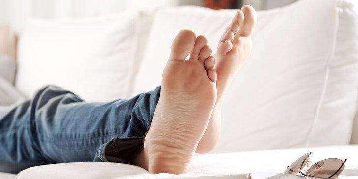 SPA pedikúra včetně hydratace a peelingu pro muže