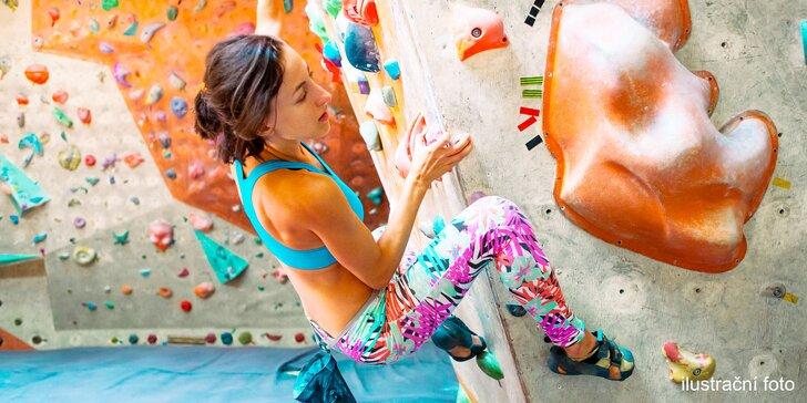 Základní kurz lezení na umělé stěně s dohledem instruktora pro jednoho