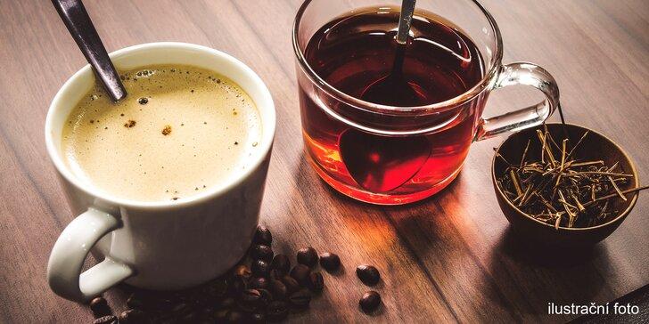 Otevřený voucher na speciální kávy a čaje: 100, 200 a 300 Kč