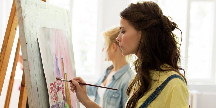 Intenzivní jednodenní kurzy kreslení dle výběru pro začátečníky i pokročilé