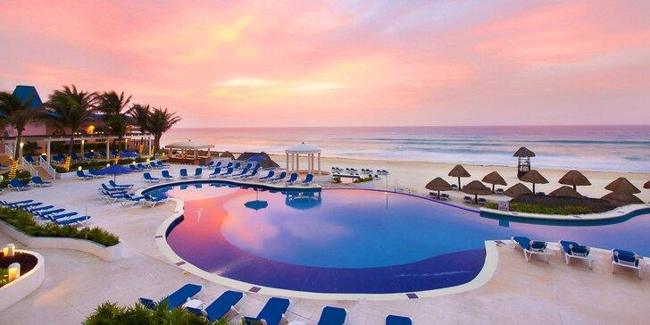 Za odpočinkem do Mexika: 7–13 nocí v 4* hotelu u pláže, all inclusive a bazén